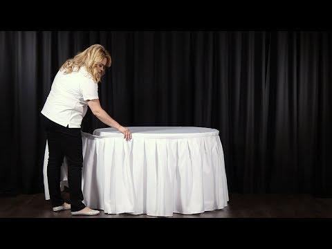 Cómo Adjuntar una Falda Para Mesa