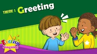 <span class='sharedVideoEp textYellow'>001</span> 打招呼 - 早安、再見 Greeting - Good morning. Good bye.