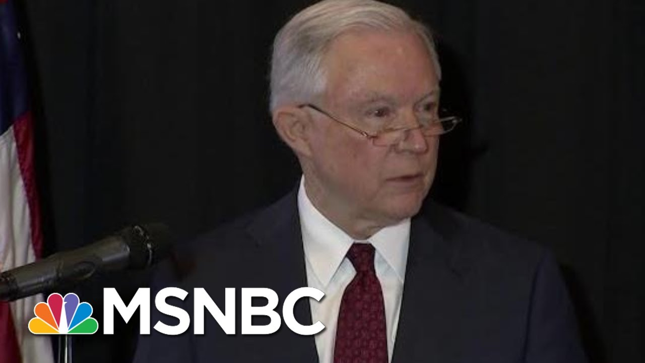 Attorney General Jeff Sessions Gets A Case Of The 'Lying Disease' | Morning Joe | MSNBC thumbnail
