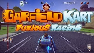 Garfield Kart Furious Racing Gameplay Walkthrough Part 1 PC Full Game