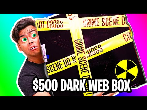Scary) The WORLDS Biggest Dark Web Mystery Box Opening (Alive