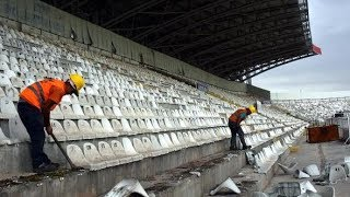 Sivas Eski 4 Eylül Stadyumu Veda Klibi #Sivasspor
