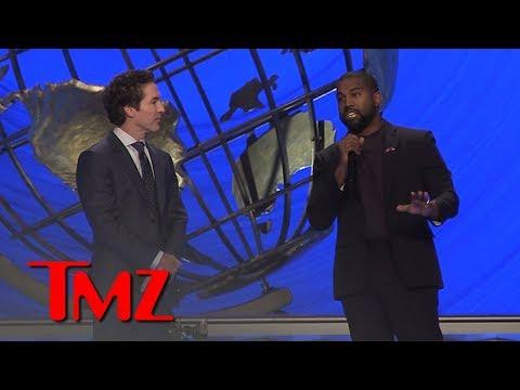 Kanye West Defends Joel Osteen from the Pulpit at Lakewood Church | TMZ mp3 yukle - mp3.DINAMIK.az