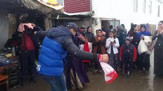 Куруш.Снег и Свадьба Гасретали 14.04.2018 г.