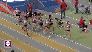 Aubière 2018 : Finale 1500 m Espoirs F (Mathilde Senechal en 4'27''49)