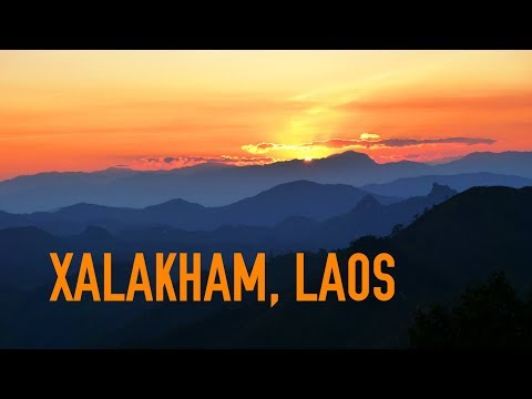 RWV:  Xalakham, Laos... A place to relax and view the surrounding