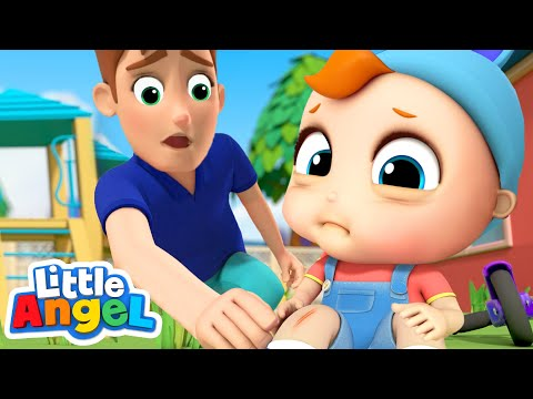 Baby Gets a Boo Boo | Boo Boo Song | Nursery Rhyme for Kids Little Angel
