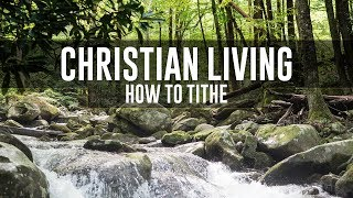 How to Tithe