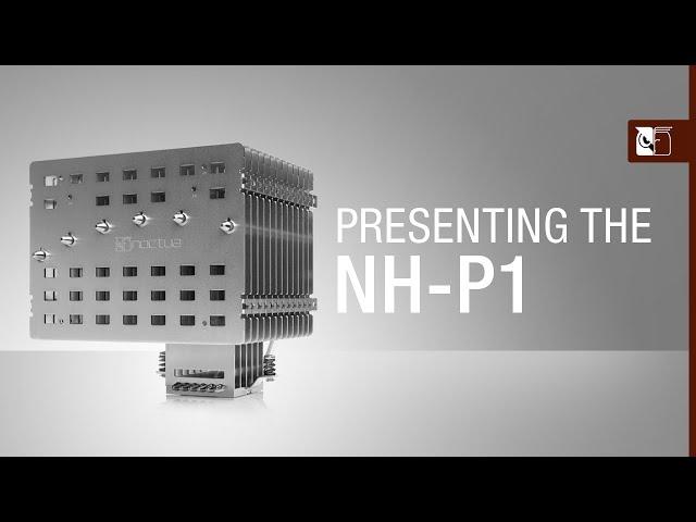 Nieuwe Noctua NH-P1 CPU koeler