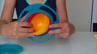 Gyro bowl - nevyklopitelná miska pro děti