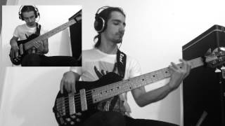 Dirty Loops Circus Bass Cover + Solo   Benny Andreica   R Bass
