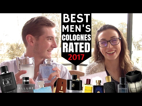 BEST MEN'S COLOGNES RATED 2017  |  Tripleinc.