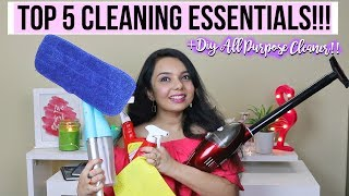 TOP 5 INDIAN HOME CLEANING ESSENTIALS FOR DIWALI CLEANING|| DIWALOG