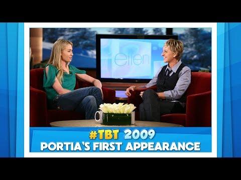 #TBT Portia de Rossi's First Ellen Show Appearance