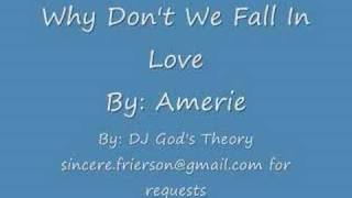 Amerie - Why Don't We Fall In Love Screwed and Chopped
