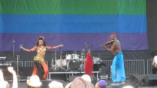 LoveMarks Music opens for Sheila E. at Oakland Pride