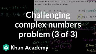 IIT JEE Complex Numbers (part 3)