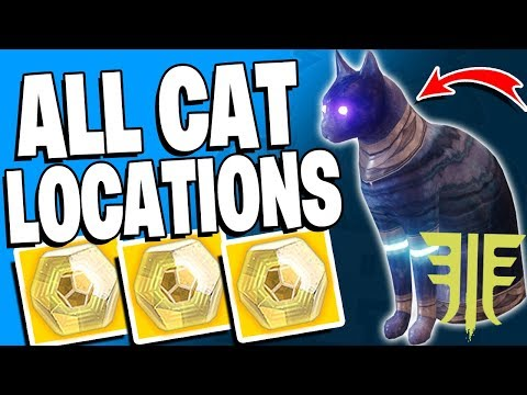Destiny 2 - All Dreaming City Secret CAT Locations - 8x Secret Trades