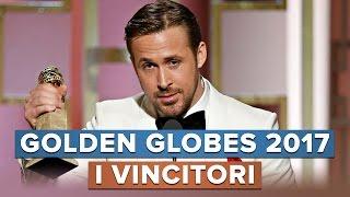 GOLDEN GLOBES 2017 I VINCITORI