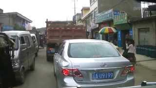 preview picture of video '【ちゃいな道路ムービー】杨林を通り過ぎる いやこれがなかなか通り過ぎられないんですよ。'