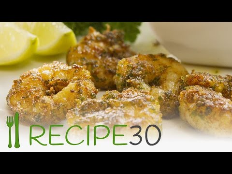 Smoked paprika prawns (shrimps) appetizer recipe - Recipe30