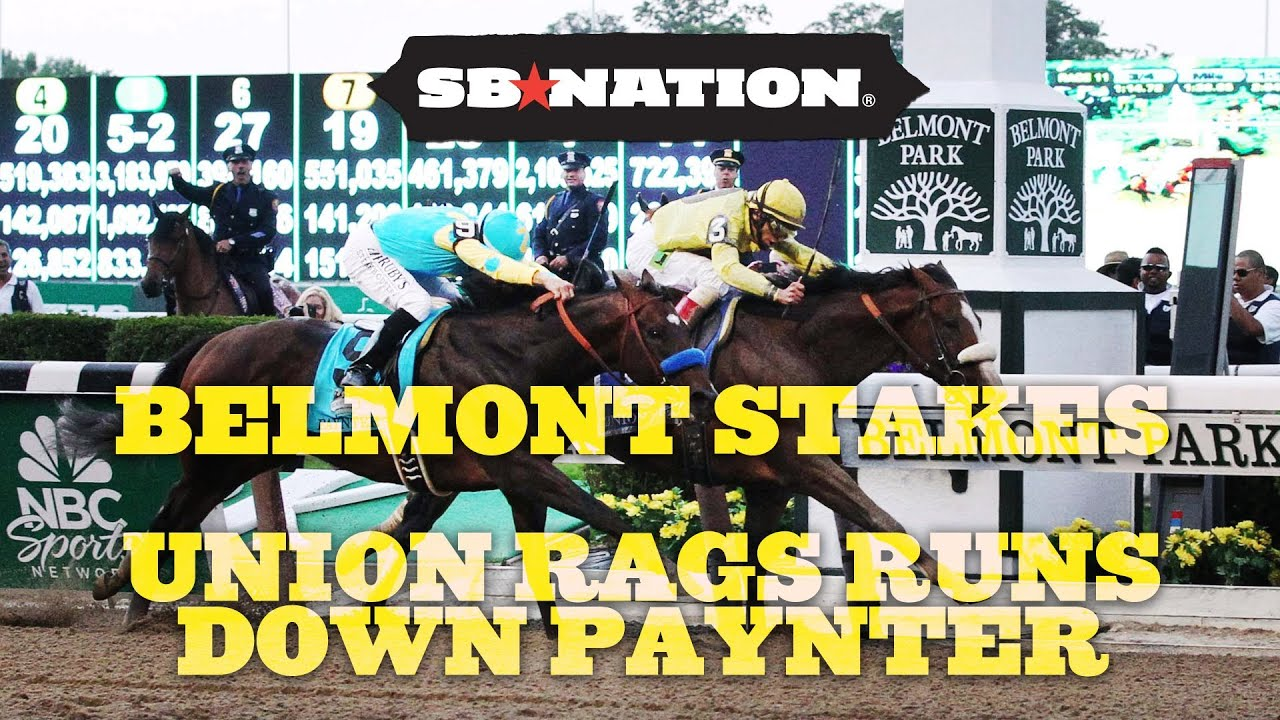 Belmont Stakes Results: Union Rags Runs Down Paynter to Capture Last Leg of 2012 Triple Crown thumbnail