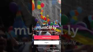 How to make an musically account