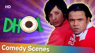 Best Hindi Comedy Scenes Of Sharman Joshi - Movie Dhol- Tusshar Kapoor -Rajpal Yadav -Kunal Khemu