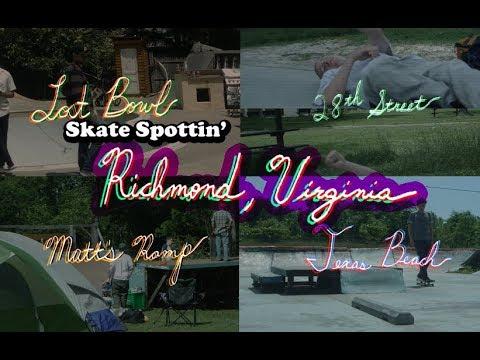Skate spottin' Richmond, VA (Texas Beach DIY, Matt's Ramp, 28th Street skatepark, and Lost Bowl)