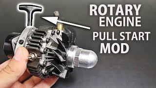 Nitro Rotary Engine Cleaning & Pull Start Addition