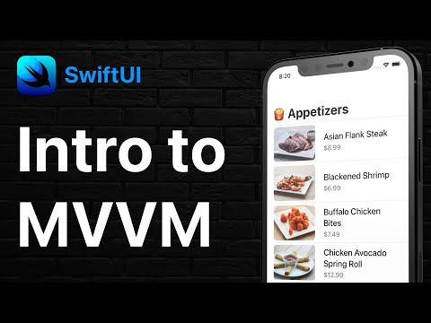 SwiftUI - Intro to MVVM   Example Refactor   Model View ViewModel thumbnail