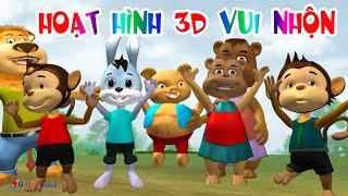 Phim Hoạt Hình 3D Vui Nhộn Cho Trẻ Em - Hoạt Hình Thiếu Nhi Việt Nam