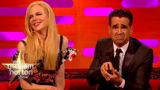 Colin Farrell Couldn't Handle Watching An Open Heart Surgery | The Norton Show
