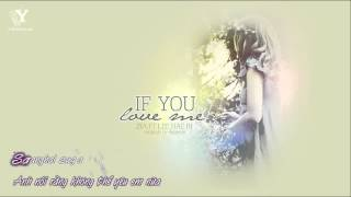 Gambar cover [Y-heaven.net] If You Loved Me - Zia & Lee Hae Ri (Davichi)