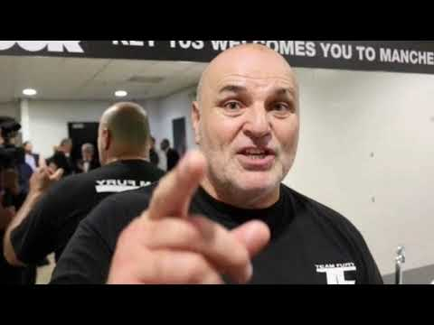 """TYSON'S WHOLE TEAM SHOULD BE SACKED!""- JOHN FURY EXPLODES ON HIS SON'S TRAINER BEN DAVIDSON!"