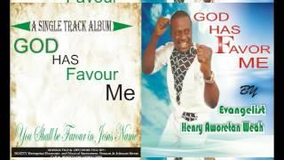 LIBERIA GOSPEL Music. .God Has Favor Me. Henry A Weah