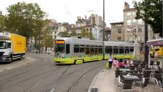 preview picture of video 'STAS 906 Tramway Saint-Étienne, Place du Peuple (2012)'