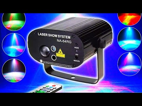 Диско проектор ESHINY Laser Light / Disco projector ESHINY Laser Light