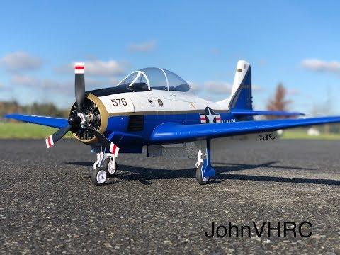 new-durafly-t28-trojan-flying-naval-aviation-centennial-edition-1100mm-hobbyking