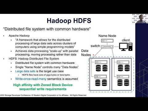 ZNS HDFS at SDC2020