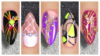 Nail Art Designs 2020 | Easy Nail With Spider Gel
