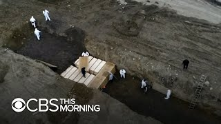 New York City digs mass graves in potter's field for unclaimed coronavirus victims