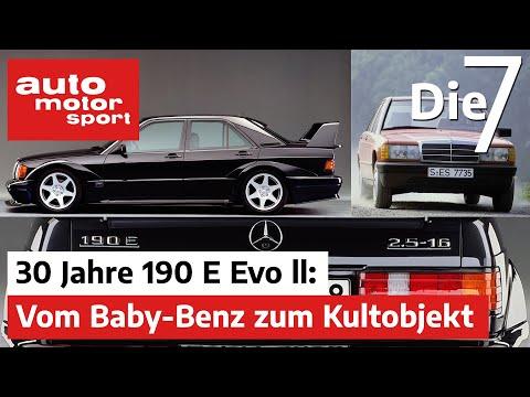 30 Jahre Mercedes 190 E Evo ll: Vom Baby-Benz zum Kultobjekt | auto motor und sport