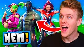 *NEW* ALL SEASON 4  SKINS In Fortnite Battle Royale! (TIER 100 Battle Pass)