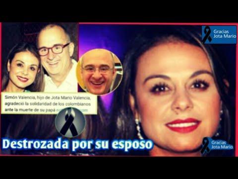 Gineth Fuentes despide a su esposo Jota Mario Valencia con recuerdo y doloroso mensaje