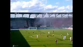 preview picture of video 'FC Ingolstadt 04 gegen FC Energie Cottbus 11.05.2014 letzter Spieltag'