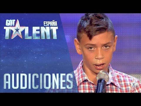 La reencarnación de Camarón | Audiciones 4 | Got Talent España 2016