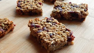 Healthy Oatmeal Breakfast Bars Recipe | The Sweetest Journey