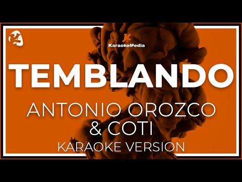 Temblando Antonio Orozco