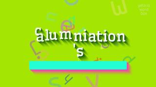 "How to say ""calumniation's""! (High Quality Voices)"